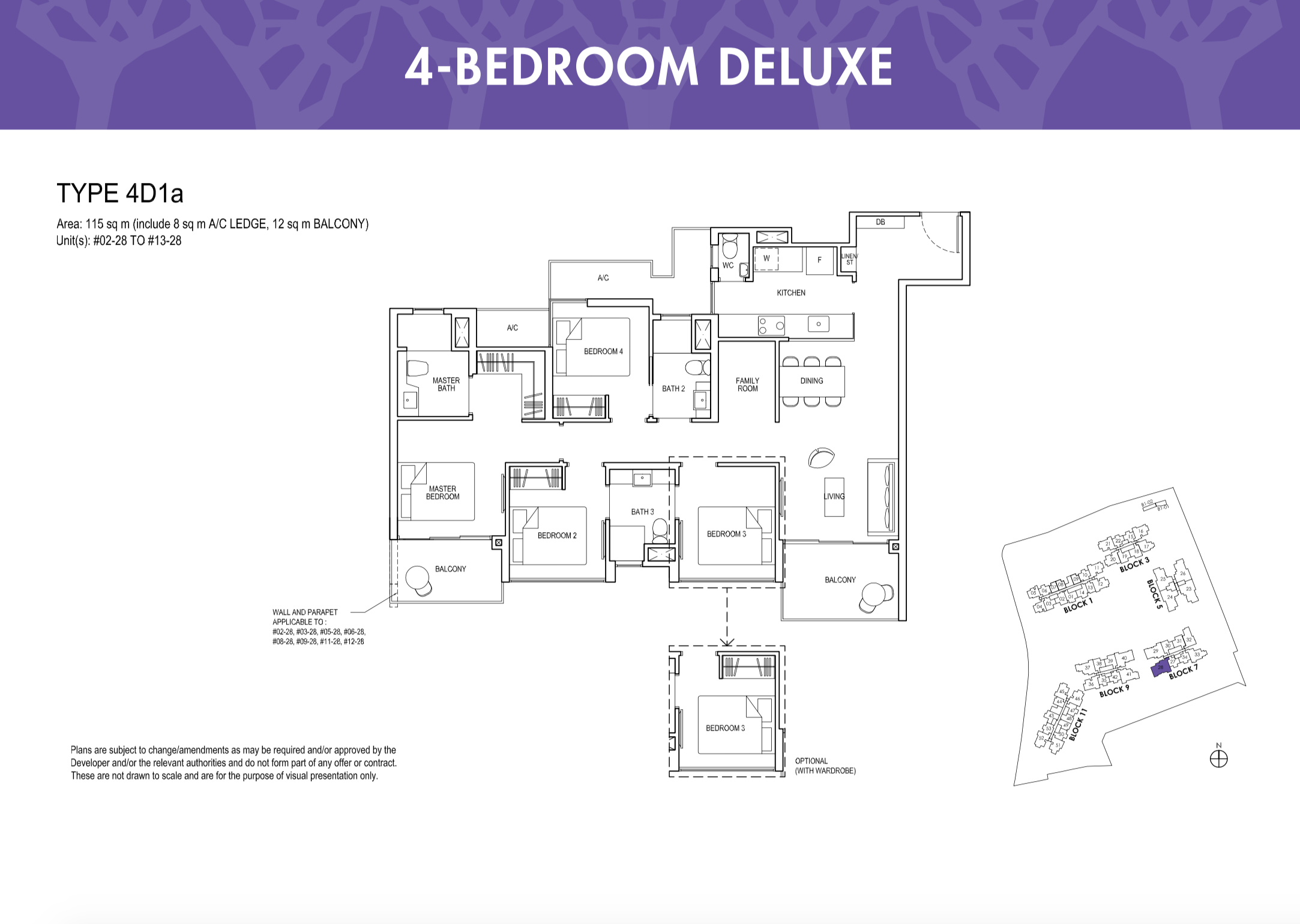 Grandeur Park Residences 4 Bedroom Deluxe stack 28